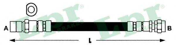LPR 6T46185 Тормозной шланг