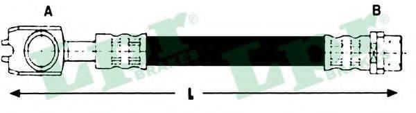 LPR 6T46784 Тормозной шланг