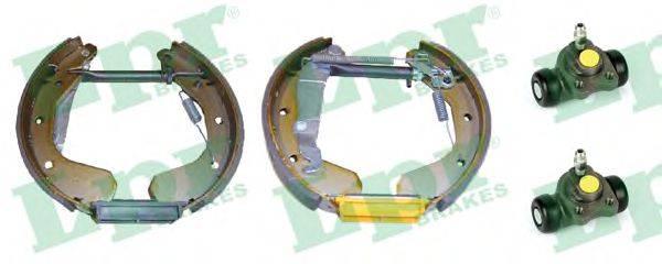 LPR OEK225 Комплект тормозных колодок