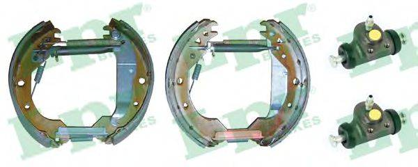 LPR OEK356 Комплект тормозных колодок
