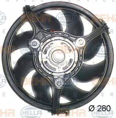 HELLA 8EW351044041 Вентилятор, охлаждение двигателя
