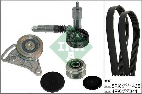 INA 529000410 Поликлиновой ременный комплект