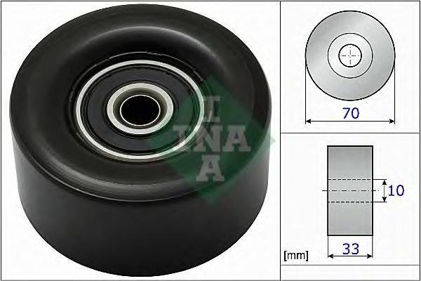 INA 532078010 Паразитный / ведущий ролик, поликлиновой ремень