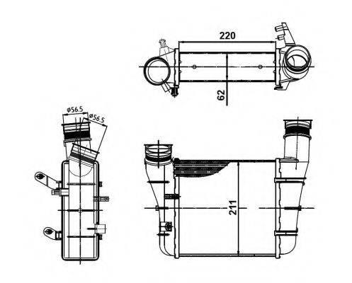 NRF 30148A Интеркулер