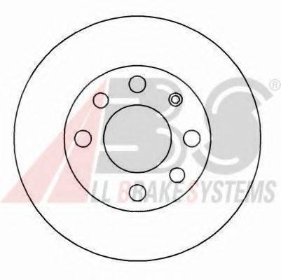 A.B.S. 15770 Тормозной диск