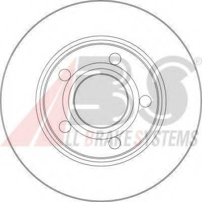 A.B.S. 17062 Тормозной диск