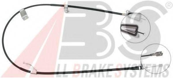 A.B.S. K19788 Трос, стояночная тормозная система