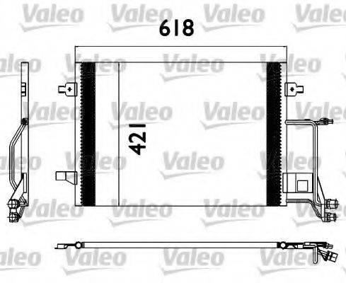 VALEO 817666 Конденсатор, кондиционер