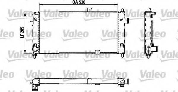 VALEO 883771 Радиатор, охлаждение двигателя