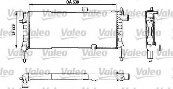 VALEO 883920 Радиатор, охлаждение двигателя