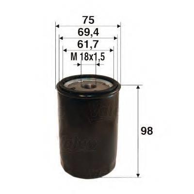 VALEO 586078 Масляный фильтр