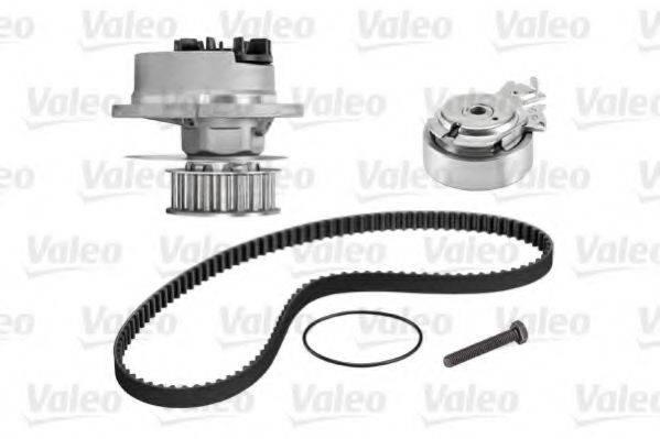 VALEO 614537 Водяной насос + комплект зубчатого ремня