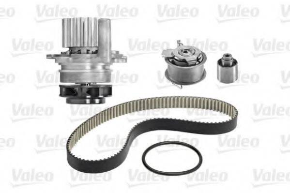 VALEO 614518 Водяной насос + комплект зубчатого ремня