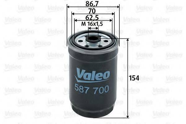 VALEO 587700 Топливный фильтр