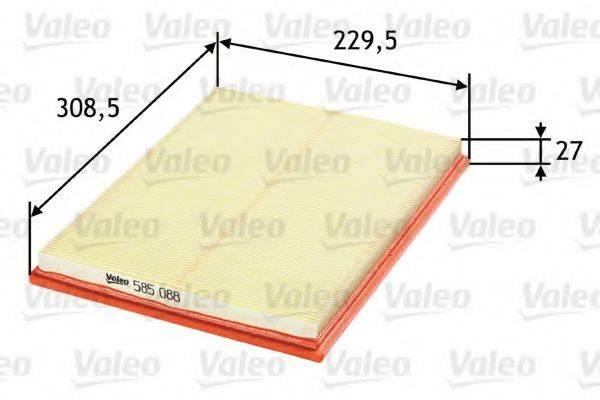 VALEO 585088 Воздушный фильтр