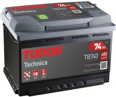 TUDOR TB740 Стартерная аккумуляторная батарея; Стартерная аккумуляторная батарея