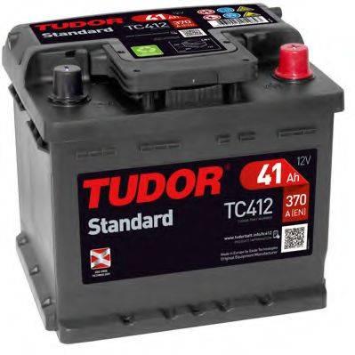 TUDOR TC412 Стартерная аккумуляторная батарея; Стартерная аккумуляторная батарея