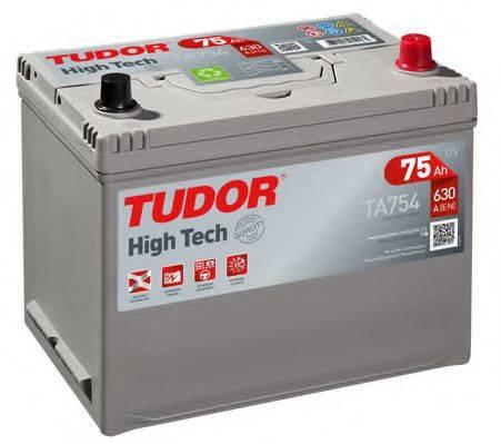 TUDOR TA754 Стартерная аккумуляторная батарея; Стартерная аккумуляторная батарея