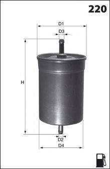MECAFILTER E06 Топливный фильтр