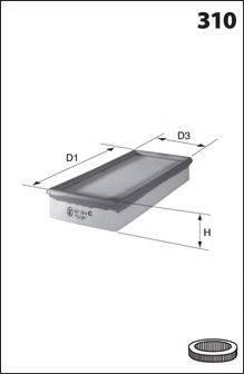 MECAFILTER 160 Воздушный фильтр
