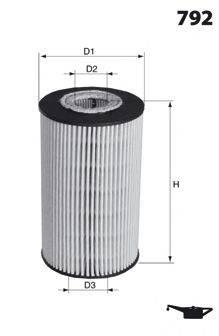 MECAFILTER ELH4216 Масляный фильтр
