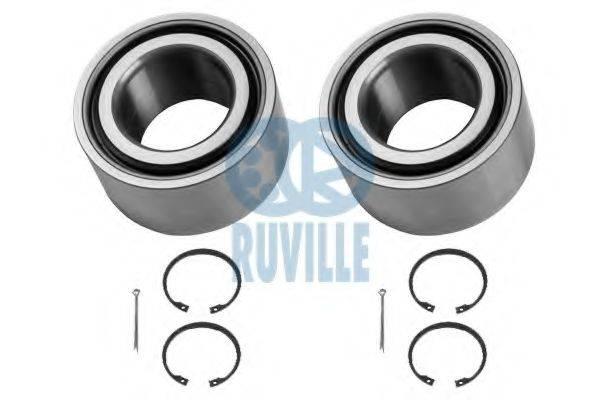 RUVILLE 5315D Комплект подшипника ступицы колеса
