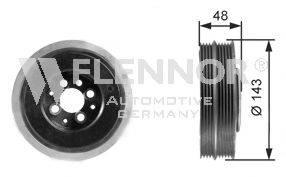 FLENNOR FVD99537 Ременный шкив, коленчатый вал