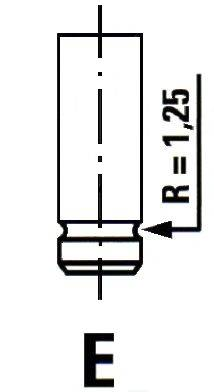 IPSA VL080700 Впускной клапан
