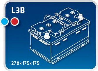 IPSA TM70 Стартерная аккумуляторная батарея