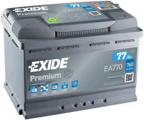 EXIDE EA770 Стартерная аккумуляторная батарея; Стартерная аккумуляторная батарея