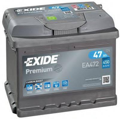 EXIDE EA472 Стартерная аккумуляторная батарея; Стартерная аккумуляторная батарея