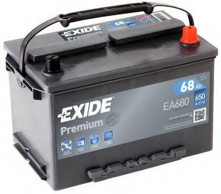 EXIDE EA680 Стартерная аккумуляторная батарея; Стартерная аккумуляторная батарея