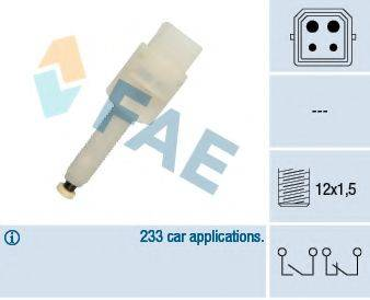 FAE 24565 Выключатель фонаря сигнала торможения
