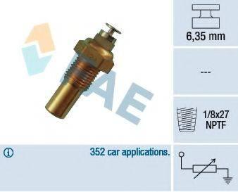 FAE 32230 Датчик, температура охлаждающей жидкости