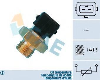 FAE 33560 Датчик, температура масла; Датчик, температура масла; Датчик, температура охлаждающей жидкости