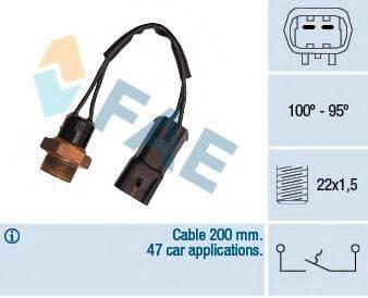 FAE 36220 Термовыключатель, вентилятор радиатора