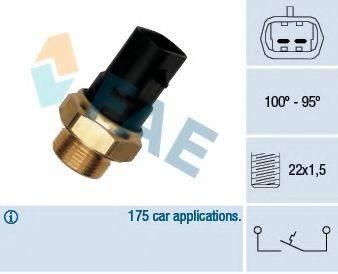 FAE 37280 Термовыключатель, вентилятор радиатора