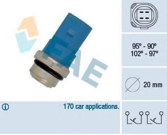FAE 38391 Термовыключатель, вентилятор радиатора