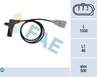 FAE 79064 Датчик частоты вращения, управление двигателем