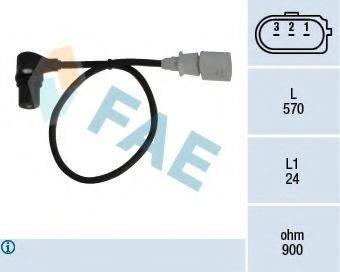 FAE 79056 Датчик импульсов; Датчик частоты вращения, управление двигателем
