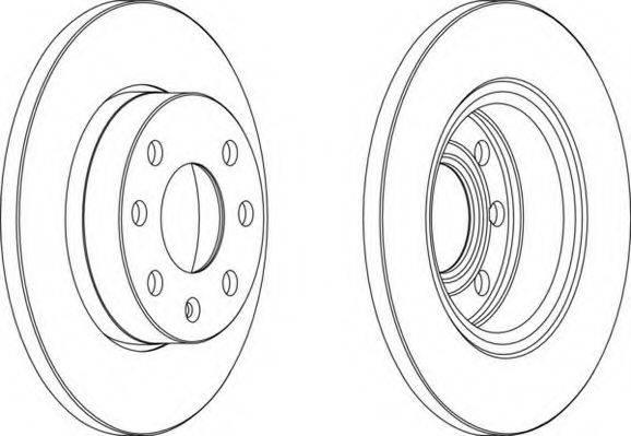 NECTO WN303 Тормозной диск