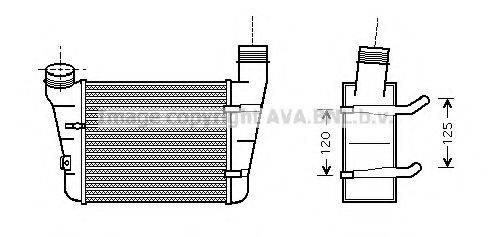 AVA QUALITY COOLING AI4221 Интеркулер