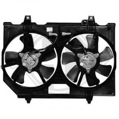 DIEDERICHS 6085801 Вентилятор, охлаждение двигателя
