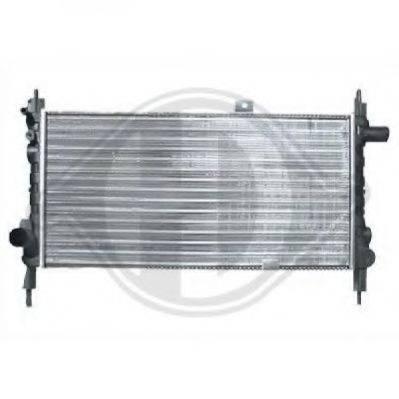 DIEDERICHS 8500806 Радиатор, охлаждение двигателя