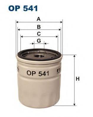 FILTRON OP541 Масляный фильтр