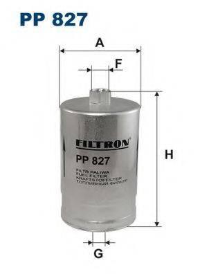 FILTRON PP827 Топливный фильтр