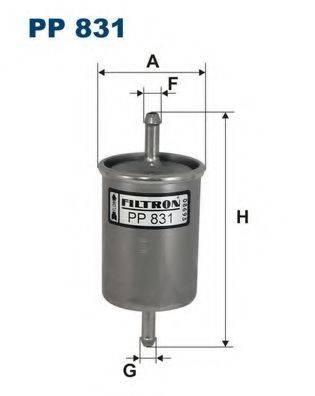FILTRON PP831 Топливный фильтр