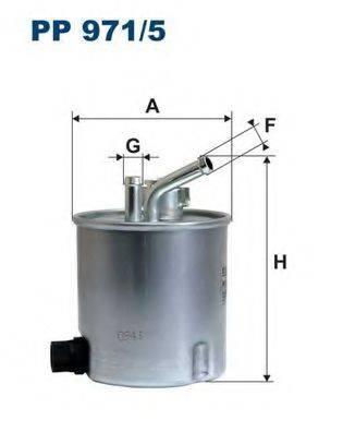 FILTRON PP9715 Топливный фильтр