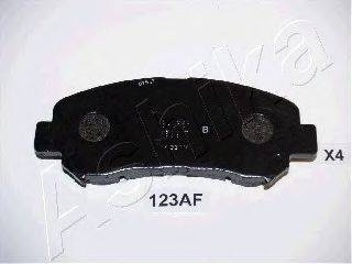 ASHIKA 5001123 Комплект тормозных колодок, дисковый тормоз