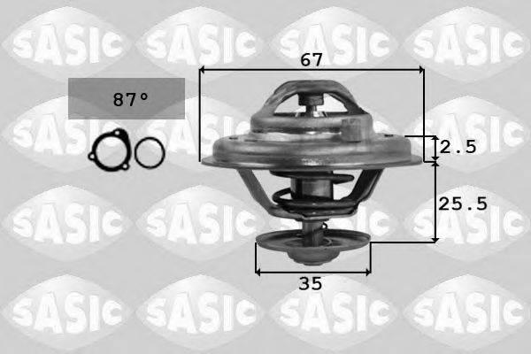 SASIC 9000167 Термостат, охлаждающая жидкость